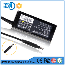 Alibaba Top Manufacturer 65w 19.5V 4.8*1.7 Laptop power adapter for Lenovo/Toshiba/Asus