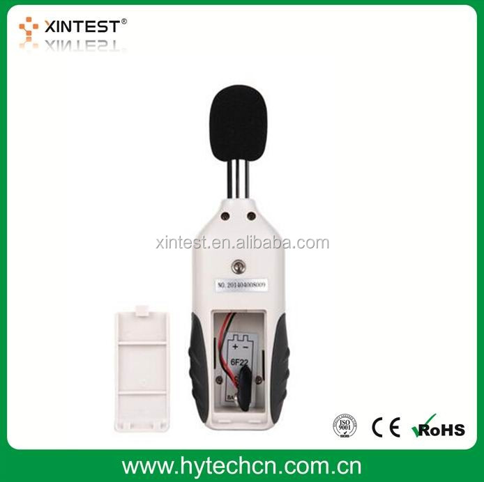 China Decibel Meter Xintest Digital Sound Level Meter Audio Noise Measure Device Dual Ranges HT-80A