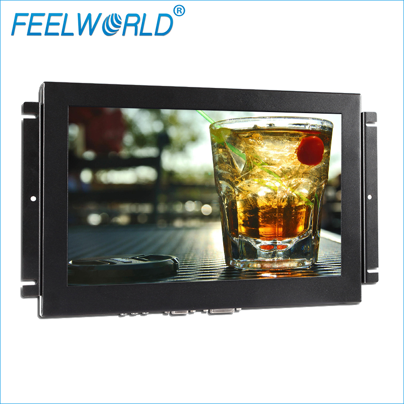 1024x768 pos industrial monitor 15 inch touch screen with resistive 4wire/5wire