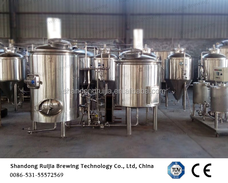 Mirror polish microbrewery craft 300l beer brewery equipment