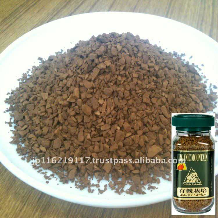 Organic 100% Colombia Freeze dried Instant Coffee / freeze-dried instant coffee