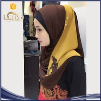 popular chiffon hijab arab sex many color in stock