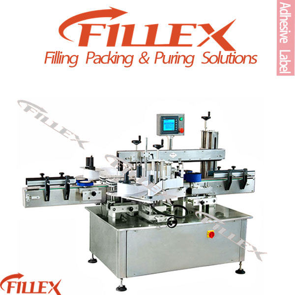 Adhesive Labeling Machinery by Factory Supplier for Square and Round Bottle