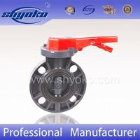 8 Inch Gear Type PVC Butterfly Valve Made in China