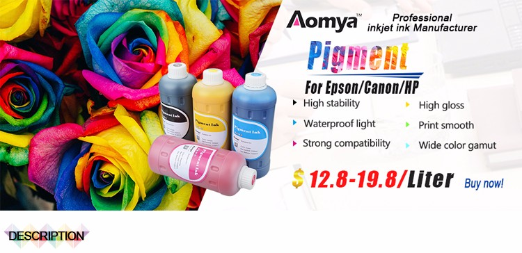 Aomya premium waterproof pigment ink for large format printer