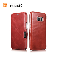 Book style Leather mobile phone Case For Samsung Galaxy S7