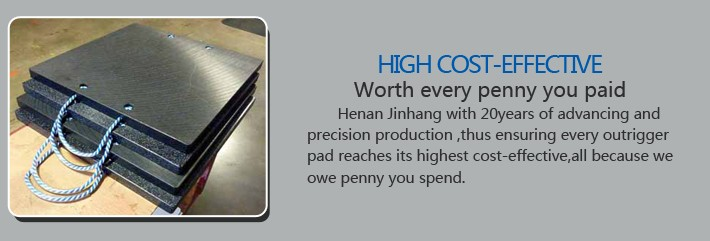 Crane pads with high cost performance , worth your trust ,from Jinhang Plastic