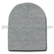 adult unisex blank wool knitted beanie hat
