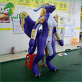 Cheap Cartoon Design Purple Inflatable Sexy Dragon With SPH Boobs For Sale
