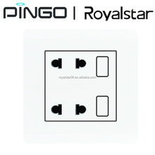 Electric 2 gang 4 pin Wall Switch Socket