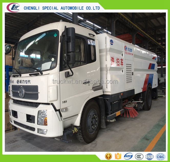 dongfeng 16m3 road washer truck