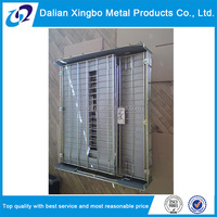 new arrival collapsible metal wire box
