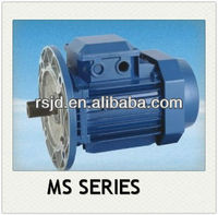New design MS ac electric motor 0.18hp three phase