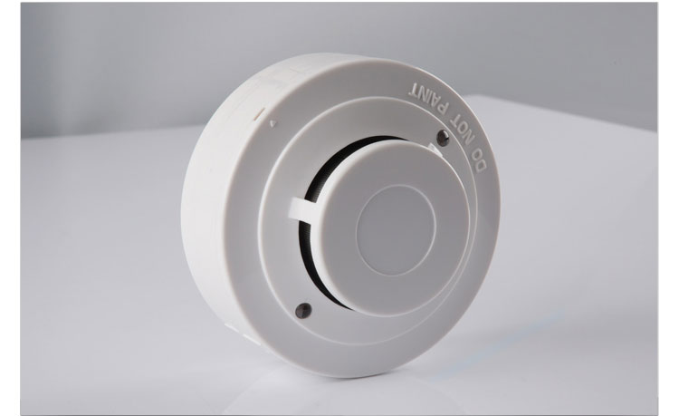 Networking 12v 24v hard wired smoke detectors