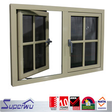 Fashion design energy efficient casement window