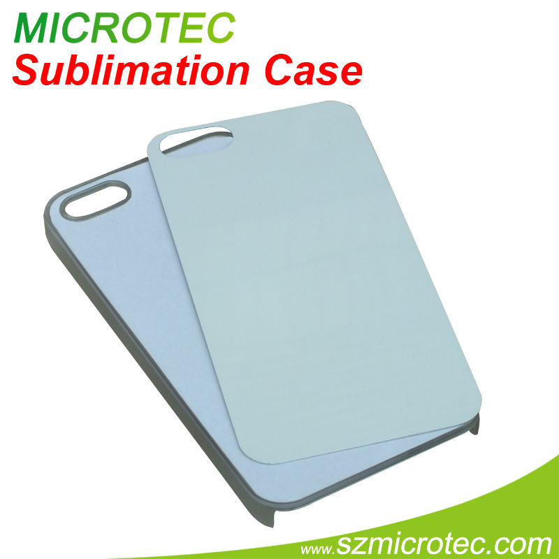 Printable hard plastic for iphone5 sublimation cover