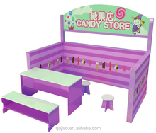 Kids Play Wooden Doll House Candy Store Doll House