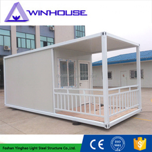 Indian modern house design prefab steel frame houses container homes china