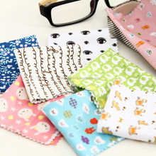 Easy-carrying Cleaning Travel Cloth,Canvas Drop Different Glasses Cloth