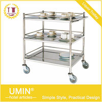 Hotel Supplies Food Service Trolley Cart
