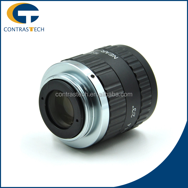 LEM-1614CB-MP8 Low Cost 8MP F1.4 Industrial Lens For Industrial Inspection