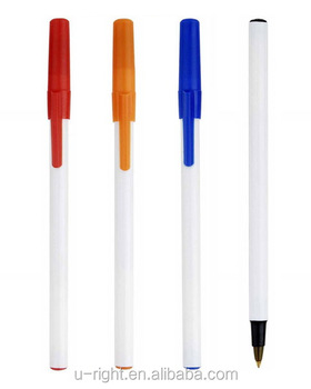 plastic promotion pp pen for hotel