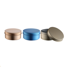 Most Popular Useful nice-looking custom Metallic luster aluminum jar