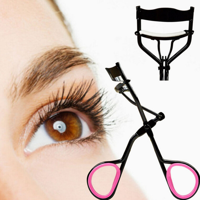 New Hot Selling Luxury Eyelash Curler With Brush,Bling Eyelash Curler