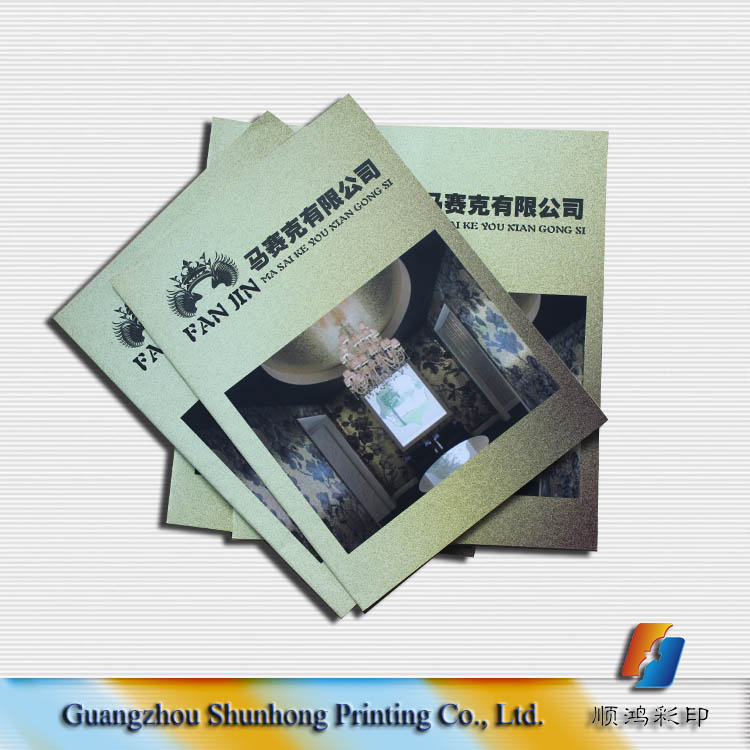 Wholesale factory price paper printing fashional customized company magazine