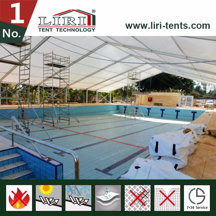 25x45m Outdoor Swimming Pool Cover Tent For Sports In China