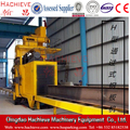 Roller through type steel grit Shot blasting equipment for H beams