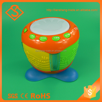 Good quality battery operated toy set plastic musical drum