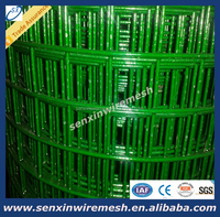 Wholesale Low carbon steel wire PVC coated Welded Wire Mesh fencing