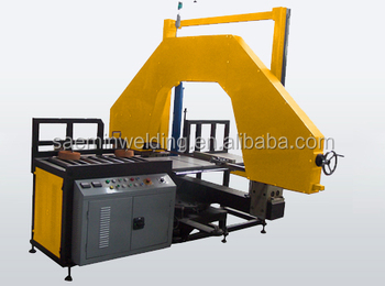 SKC-MA630B Plastic Pipe angle cut plastic pipe band saw machine for PP PE PVDF