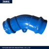 Ductile Iron Pipe Fittings 22.5 Degree Elbow From Shanxi