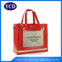 Fashion Designer Bags Large Zippered Tote Bag