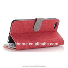 For iPhone5/5s Denim Leather Stand Flip Cover Wallet Case