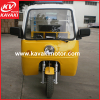 yellow and white passenger taxi taxi trike 3-wheeler tricycle with drive roof made in guangzhou china best selling in africa mar