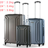 Super light weight 100% PC 3 piece trolley luggage set
