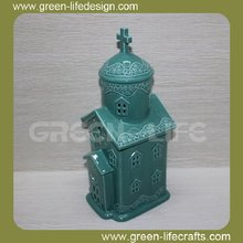 Vintage elegant ceramic church