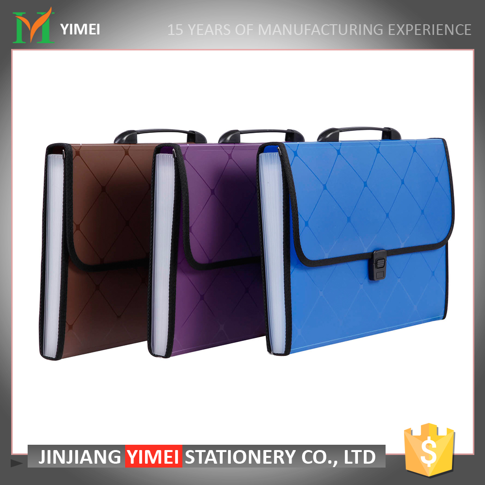 top sale pp stationery expanding a4 loose leaf portfolio case