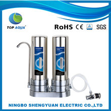 counter top domestic whole house water filter