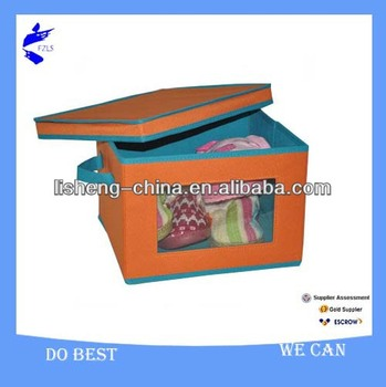 Household Cute Fabric Non-woven Foldable Storage Box
