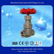 Stainless steel 304 slab 36 inch chain wheel gate valve