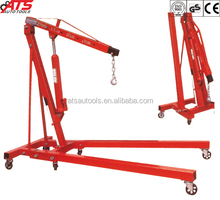 2Ton hydraulic shop crane 85kg foldable engine crane with CE