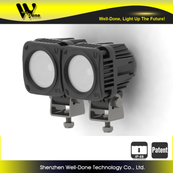 10w 4x4 cube Lighting, 2inch LED auto Light ip68