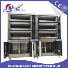 three deck bakery oven commercial cookie oven single deck oven