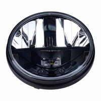 "7"" 36W Round LED Headlight Driving Light For Wrangler Heavy-duty trucks, off-road vehicles, classic cars and Harley motorcycles"