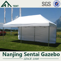 3X6M High Quality Waterproof Aluminum Big Hexagon Popup Canopy outdoor grill pop up gazebo tents