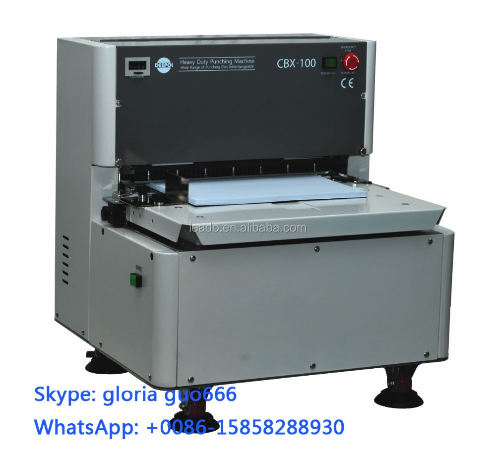 BD-CBX-100 spiral coil binding machine binder